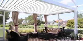 Best enclosure with the pergolas