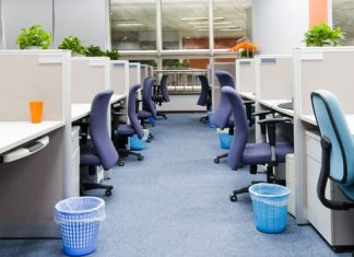 Commercial Office Needs Renovation To Clean